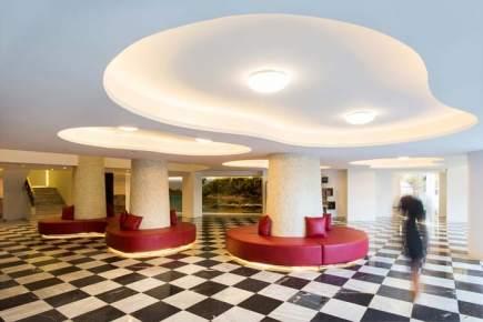 Hotel Garonda-luminación-LED- IGuzzini- luminarias