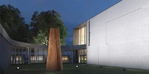 luminaria para exteriores- Kona- ERCO- LED- iluminación- luminarias- proyectores- bañadores