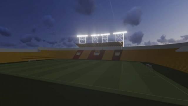 estadio del Aucas- Ecuador, iluminación- Aucas- EPMMOP-Q