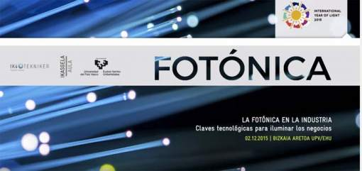 Jornada- fotónica- Bilbao- óptica- luz- láser- IK4-TEKNIKER
