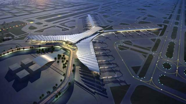 Aeropuerto-Jeddah- AEC- alumbrado exterior-Galileo-iluminación