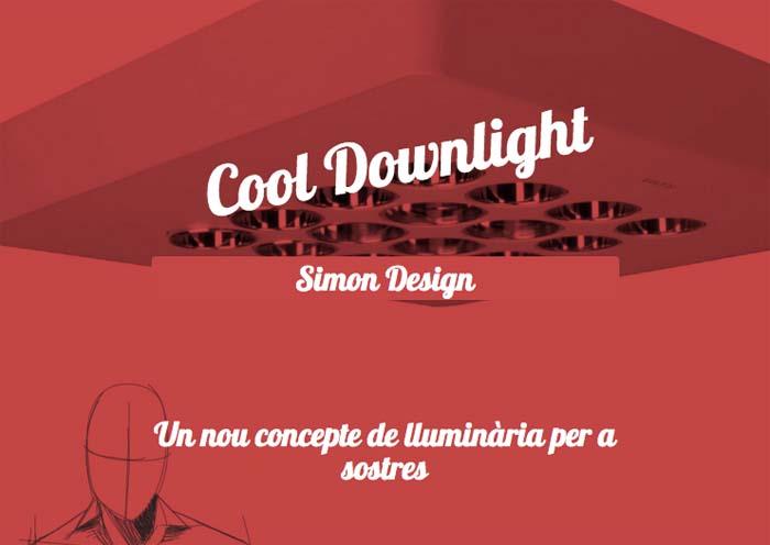 FLUVIA- Premio Cataluña de Ecodiseño 2015-Cool Downlight- premio