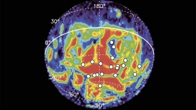 Luz, auroras ultravioletas, Marte, ESA, Agencia Espacial Europea, campo magnético, luz