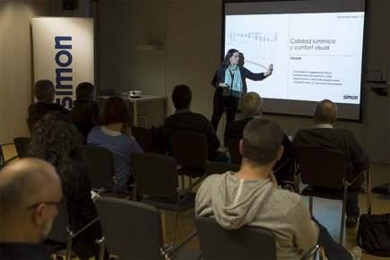 Simon Technical Days- conferencias-Simon- Helena Chao- lumínica- lumínico-iluminación-