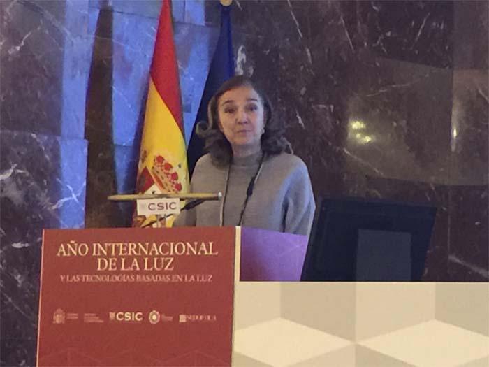 John Dudley- clausura-Año Internacional de la Luz- CSIC- óptica- María Josefa Yzuel