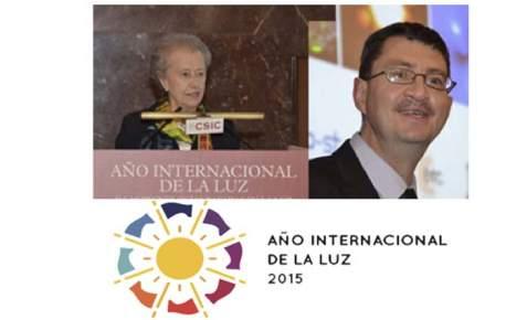 IYL2015, John Dudley- clausura-Año Internacional de la Luz- CSIC- óptica- María Josefa Yzuel
