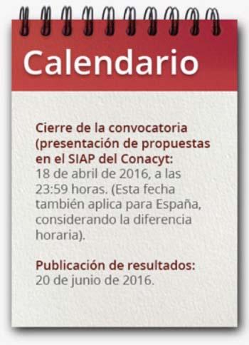 México- España- I+D+i-Conacyt- CDTI- I+D+i