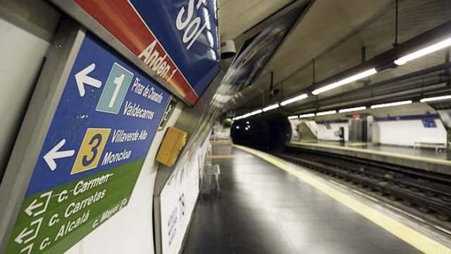 LED, Metro de Madrid, Telefonica, adtrackmedia