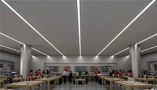 Apple Store- sistemas de iluminación- patente- iluminación- LED- luz- Apple