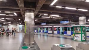 Caverin Solutions - iluminación - metro de Madrid - luminarias LED - LG Lighting