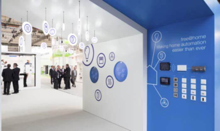 ABB - edificios - hogar inteligente - Light + Building - automatización - iluminación - IoT - free@home®