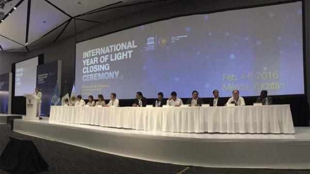 Año Internacional de la Luz - AIL 2015 - AIL - Ceremonia de Clausura - Luz - Dudley - Ana Maria Cetto