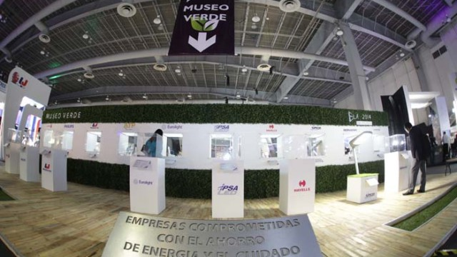ELA Expo Lighting América® 2016 - Museo Verde – ELA - iluminación