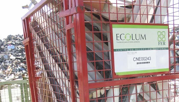 ECOLUM - formación - Reciclaje de Aparatos de Iluminación - AGIC