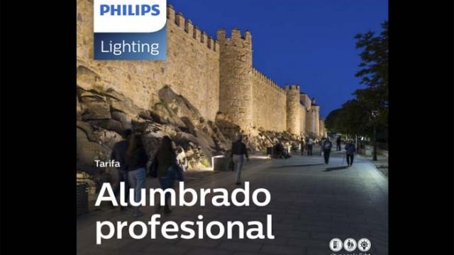 Philipstarifa digital del sector de la iluminación- iluminación