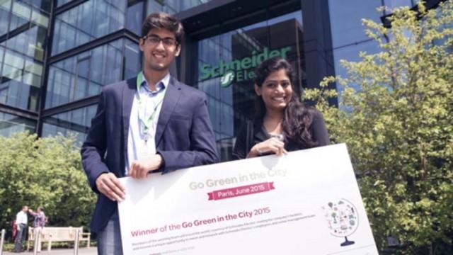Schneider Electric - Smart cities - sostenibilidad energética - Go Green in the City - KIC InnoEnergy – formación - ISEF