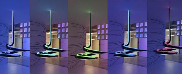 Zumtobel - Dornbirn - stand - Light+Building - luz - iluminación – LED - luminarias - acdc -Tridonic