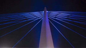 LED para pasamanos - Schréder - rio Támesis - LED - iluminación - puente