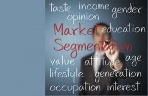 Mercado – segmentación - segmentar