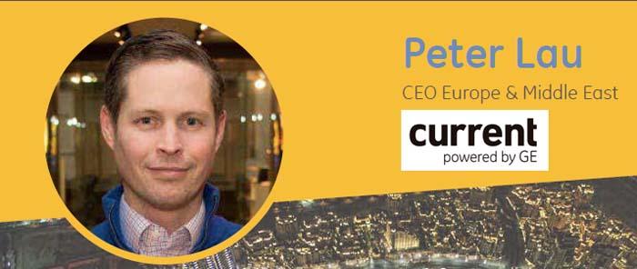 Peter Lau - CEO - Current - GE Lighting - GE - Lau - start-up