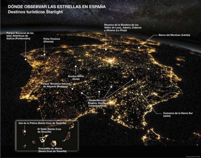 Astroturismo - estrellas - Starlight - astronomía - turismo - astrofísica