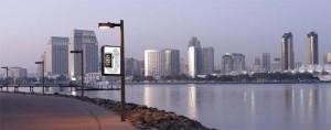Dreamlux - soporte publicitario - Pantalla LED - Farolas - Smart city
