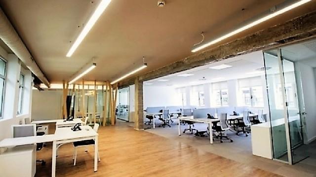 LED - Ice Line - downlights Advance 90 - Cadena SER Radio – Bilbao - AV Arquitectura, Grupo Lledó