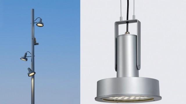 Santa & Colé - Gonzalo Milá – LED – loodlight - Feria Light + Building, -Frankfurt