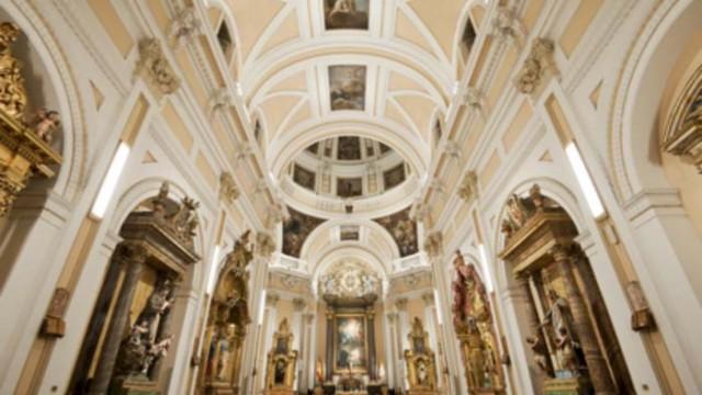 Intervento, luminaria, iluminación, iglesia