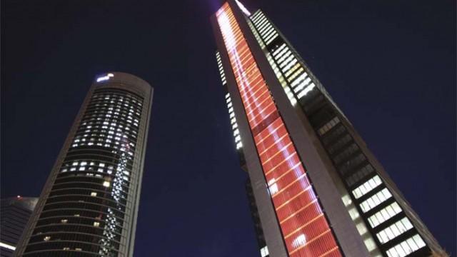 iluminación conectada - Philips - monumentos - iluminación - Torre Cepsa - Baño de la Cava de Toledo - ActiveSite - Color Kinetics