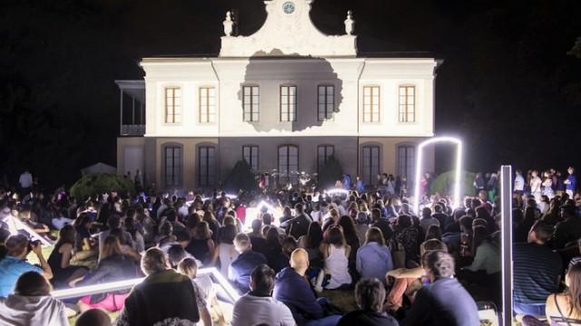 Romain Tardy - Musée de l'Elysée – Lausana - Suiza, -Future Ruins – jardín - Nuit des images - Noche de las imágenes - instalación
