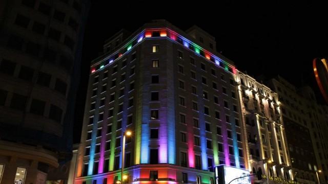 Teatro Gran Vía – HUE – PETALO – HOPE – LUCEPLAN - Luminous Carpet - Philips Lighting - Luminous Textile con LightVibes