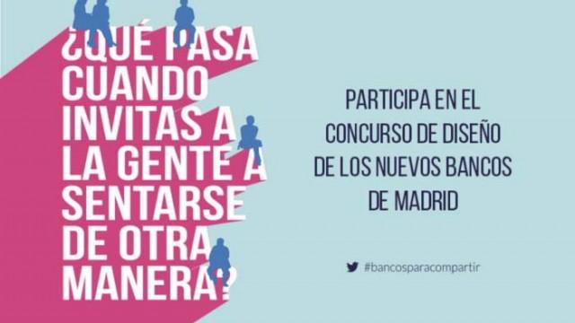 COAM - Ayuntamiento de Madrid - concurso - diseño - mobiliario urbano - OCAM