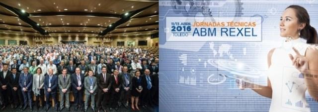 Jornadas técnicas - ABM REXEL - Toledo - distribución - ventas