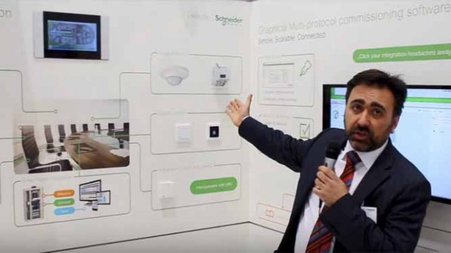 Schneider Electric - Light + Building - Víctor Méndez - iluminación - Smart home - viviendas - edificios - Smart building
