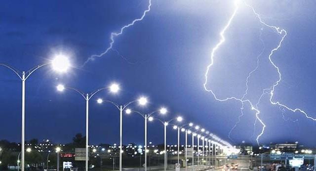 Protección contra sobretensiones - alumbrado exterior - LED -alumbrado - sobretensiones - rayos - Dehn