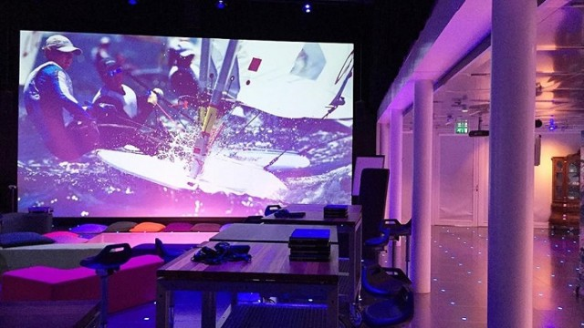 SCENA LED, NRG 801, LEF future center, Rijkswaterstaat, Acson comercial, Utrecht, Holanda