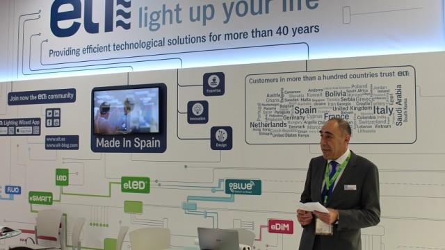 ELT - iluminación - Light+Building - control inteligente de la iluminación