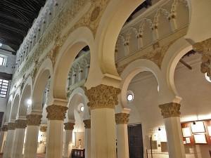 Iberdrola – LED - Santa María La Blanca – iluminación – Toledo - sinagoga