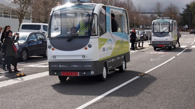 CityMobil2 – automatización - Parque Científico y Tecnológico de Gipuzkoa – Donostia - San Sebastián – Tecnalia - vehículo eléctrico