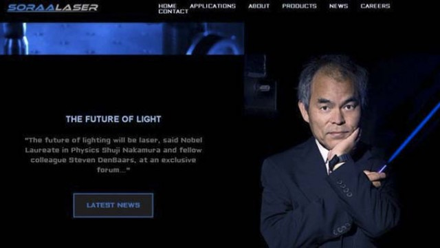 Láser - LED - OLED - SoraaLaser - iluminación - luz