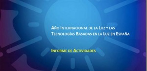 Comité Español - Año Internacional de la Luz - informe - España - Luz