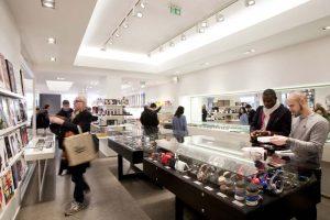 ERCO - tienda Colette – París - luminotecnia - LED - iluminación
