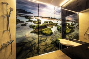 Loft – hotel – vinilos - 3M – Zarautz - luz
