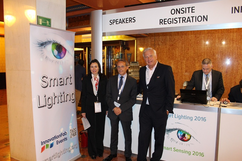 Conferencias - iluminación conectada - Smart Lighting & Smart Sensing 2016 - iluminación