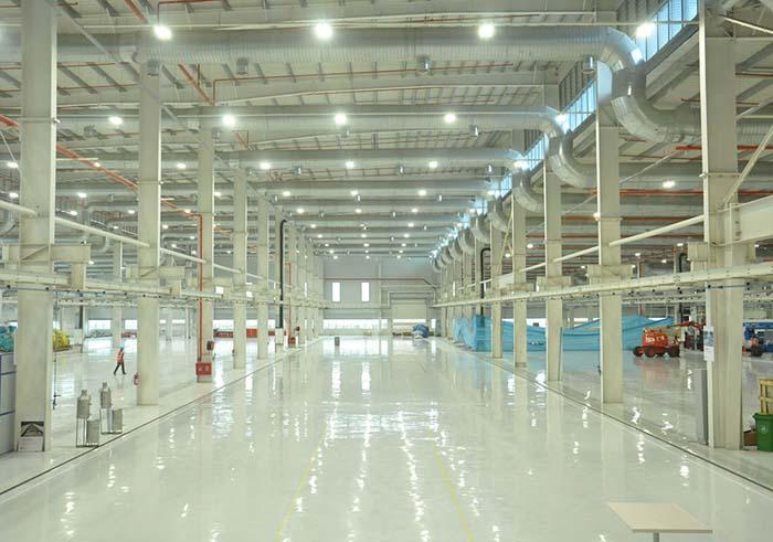 Iluminación - sector industrial -Current by GE - GE - instalaciones industrials -GE Lighting