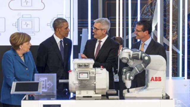 Obama - Merkel - tecnología digital - ABB - sensor inteligente - en la nube