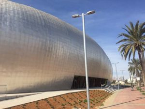 Luminaria – TECEO - Schréder - Palacio de Deportes - Cartagena