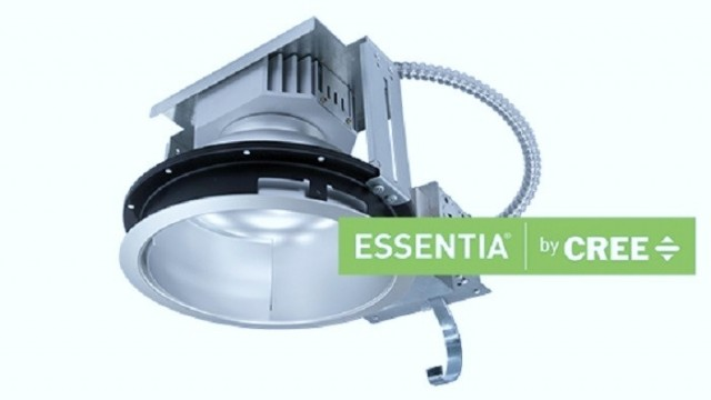 Essentia – Cree – LED – downlights – proyector – troffer - luminaria