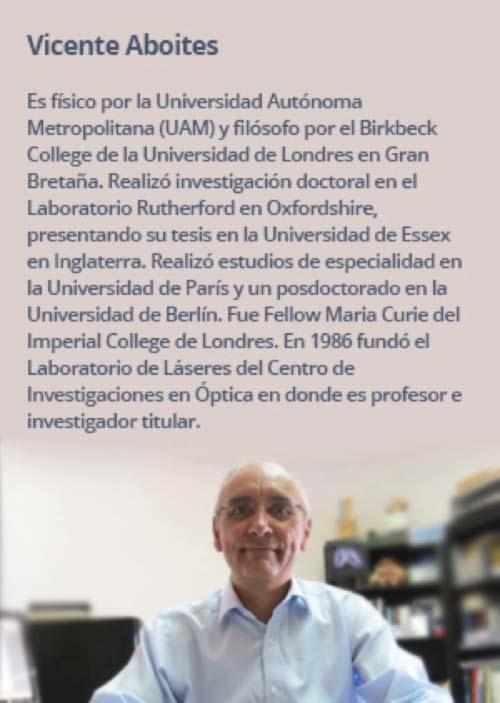 """Entrevista - Vicente Aboites - libro - """" Color, entre la realidad y la metafísica"""" - óptica"""